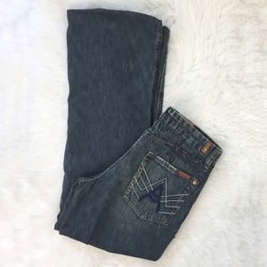 7 For All Mankind Great Wall of China Jeans Sz 31